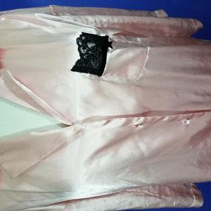 2 Piece Victoria's Secret Pretty Pink Pajama Large